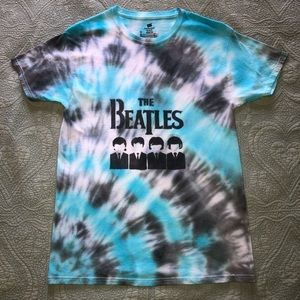 Tie Dyed Beatles T-Shirt